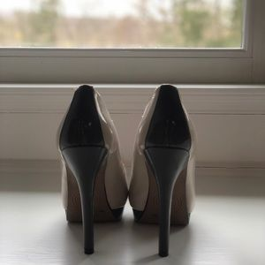 Jessica Simpson Shoes - Jessica Simpson Heels Grey Orange US 6 EU 36